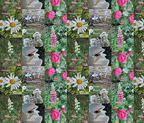 Good_books_1-ed fabric by ruthjohanna on Spoonflower - custom fabric