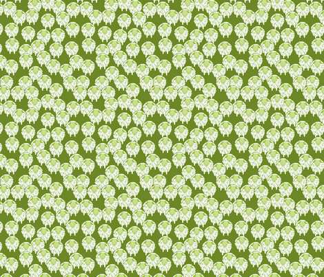 green sheep fabric by cjldesigns on Spoonflower - custom fabric