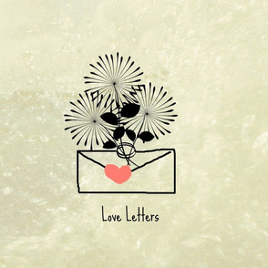 bouqet love letter-quote