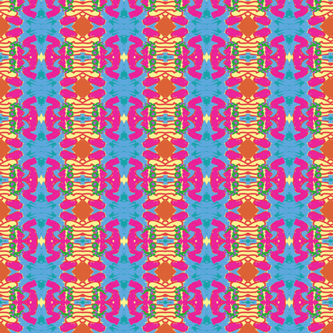 Faux Provencal, Playing with my Mini iPad v1, c2 fabric by susaninparis on Spoonflower - custom fabric