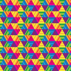 Rainbow Triangles