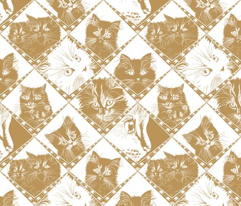 Damask_cats_gold_ba9459_repeat_shop_preview