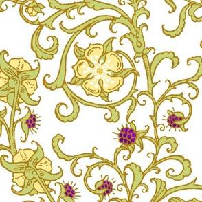 fabric36_x42_victorian_vines_yellow