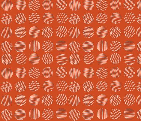 Bingo! - Orangina fabric by abbyhersey on Spoonflower - custom fabric