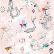 Boho Maids + Dragons