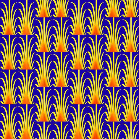 Fire Feathers fabric by fireflower on Spoonflower - custom fabric