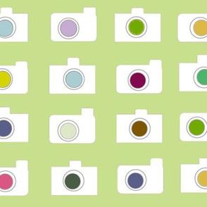 Camera colors-kiwi