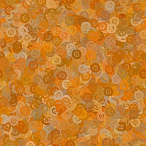 Flowerbutton - Marigold