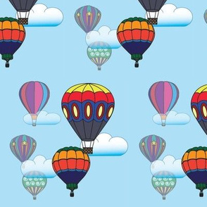 Hot Air Balloon Sky version 2