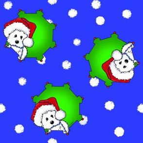 Christmas KiniArt Westies LG