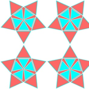 star_diamond_aqua and coral