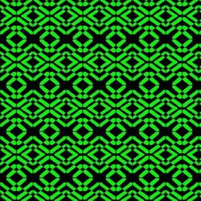 Irish Crosses and Losses Green