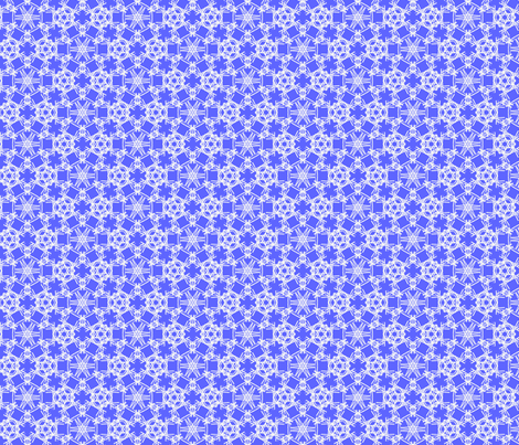 Starry Doodle Cobalt Tint fabric by color_geek on Spoonflower - custom fabric