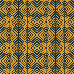 Sentries Gold Navy Blue