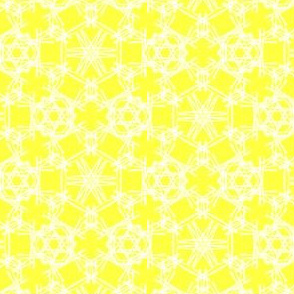 Starry Doodle Sunny Yellow