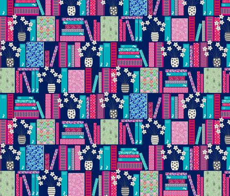 books fabric by jill_o_connor on Spoonflower - custom fabric
