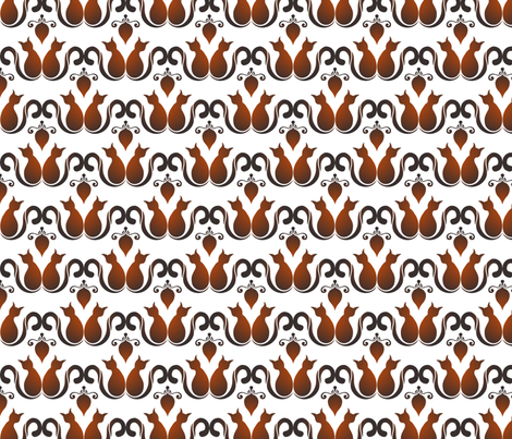 Cats and mice fabric by gabriellemutel on Spoonflower - custom fabric