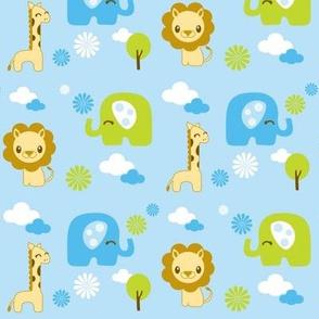Nursery Safari Animals