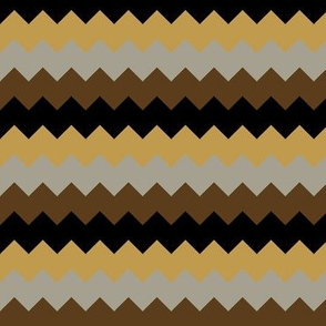 Steampunk Chevrons - Wide