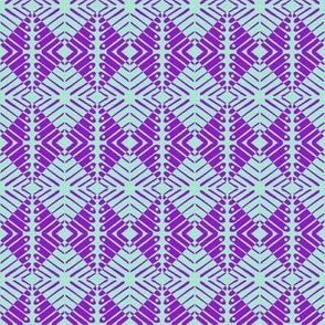 Squares Purple Deep