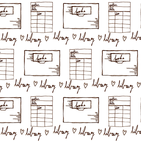 Dewey Due Be Due Two Tone fabric by sparegus on Spoonflower - custom fabric