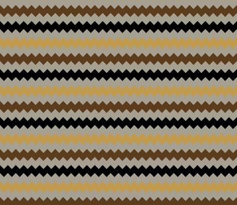 Steampunk Chevron Wide fabric by joyfulrose on Spoonflower - custom fabric