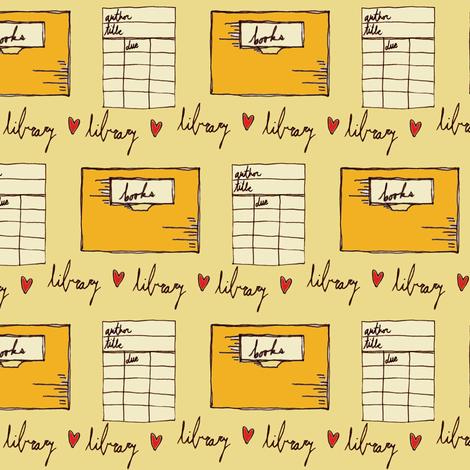 Dewey Due Be Do Yellow fabric by sparegus on Spoonflower - custom fabric