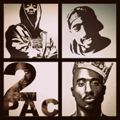 2Pac Collage