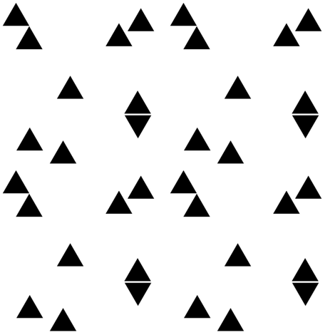 black and white fabric by luckywe on Spoonflower - custom fabric
