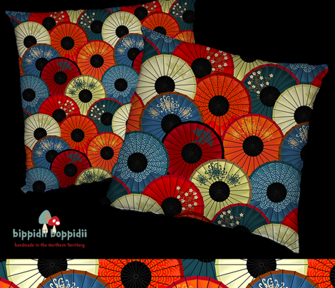 Chinese umbrellas (large scale)