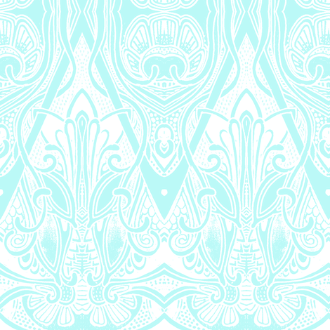 Great Aubrey's Ghost fabric by edsel2084 on Spoonflower - custom fabric