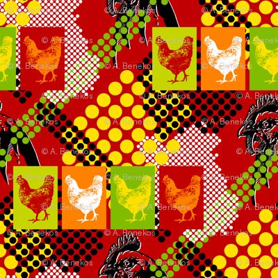 Chicken Pop - Red