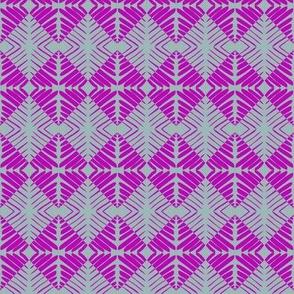 Tribal Squares Purple