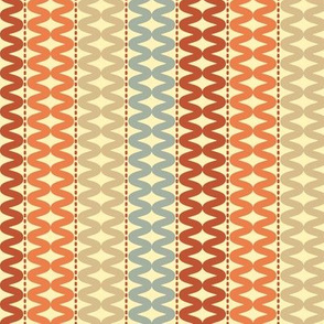 abstract wavy pattern