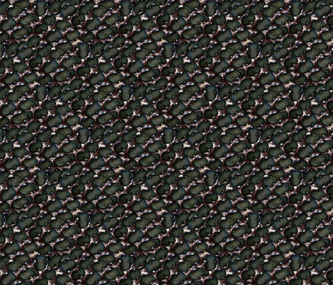 Black bubbles fabric by hannafate on Spoonflower - custom fabric