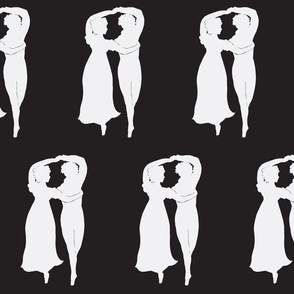 Regency Passion Reversed Silhouette