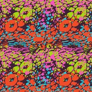 Colorful Leopard- Neon Colors