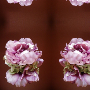 Vintage Flower Mirror