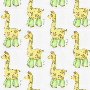 Button Giraffe