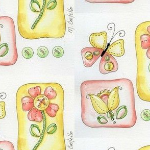 Buttons, Butterflies, and Patches