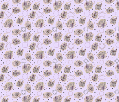 amethiste-symboles2-7cm fabric by holymane on Spoonflower - custom fabric