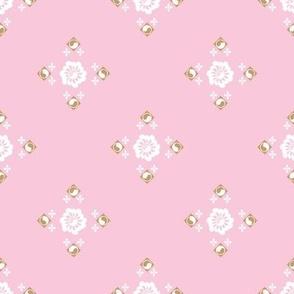 Flower Garden in Pink