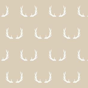 Antlers // tan