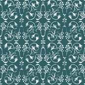 Vintage Belle - Antique Teal