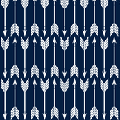 arrows // navy - railroad