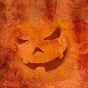 Evil Pumpkin in orange