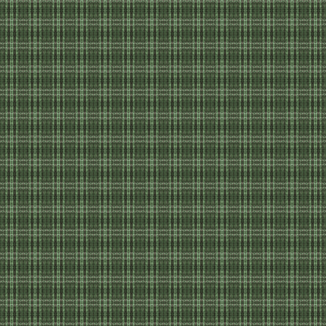 Little and Green: StrongPlaid fabric by tallulahdahling on Spoonflower - custom fabric