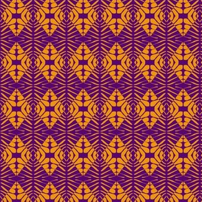 Shields Orange Purple