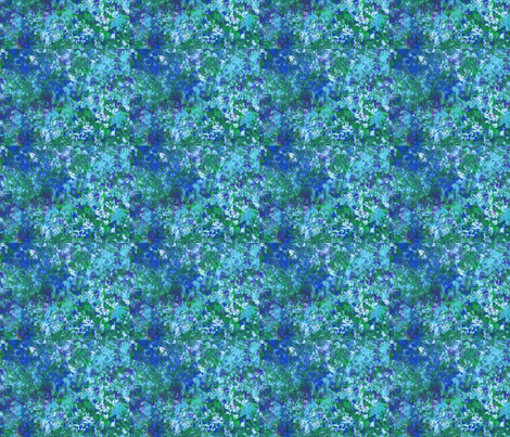 Blue fabric by kitcasey on Spoonflower - custom fabric