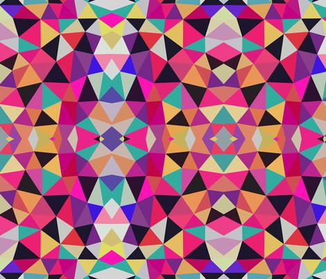 Neon Mess Tribal fabric by beththompsonart on Spoonflower - custom fabric